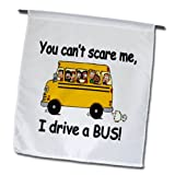 EvaDane – Funny Quotes – You cant scare me I drive a bus – 18 x 27 inch Garden Flag (fl_157372_2) Review
