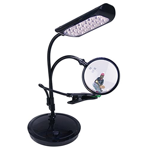 Amazon Lightaccents Dimmable Flexible Gooseneck Magnifier