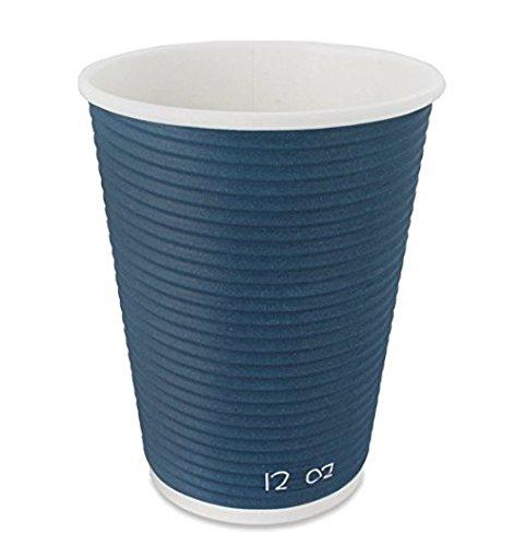 Tazas de café desechables aisladas para ir biodegradables hechas de fuentes renovables, Blanco, Lids for 12-16oz | 500 Pack