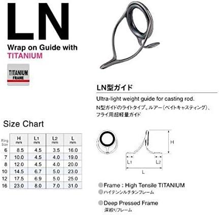 富士工業(FUJI KOGYO) SiCリング 糸巻式 LNガイド T-LNSG 6