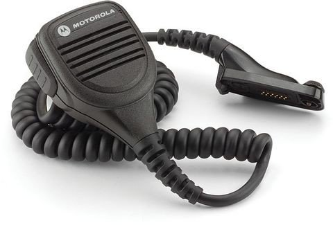 Motorola PMMN4050A Large Remote Speaker Microphone with Noise-Cancelling Feature (Black)