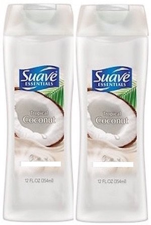 Price comparison product image Suave Essentials Tropical Coconut Shampoo and Conditioner 12 Oz. - Set of 2