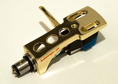 XL-DD20 needle for Gemini TT-04,XL-DD50 ITT GL-101 XL-BD10 cartridge XL-DD30 DJ-Q1300 mount TT04 VINYL 2 MP3 DJ-Q1200 - MADE IN ENGLAND Gold plated Headshell TT-2000 XL-BD40