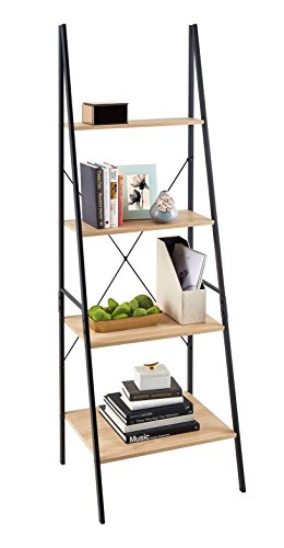 ClosetMaid 1312 4-Tier Wood Ladder Shelf Bookcase, Natural by ClosetMaid (Image #2)