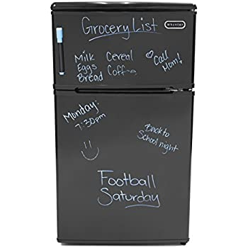 Whynter MRF-310DB 3.1 Cubic Feet Energy Star Stainless Steel Compact Refrigerator/Freezer