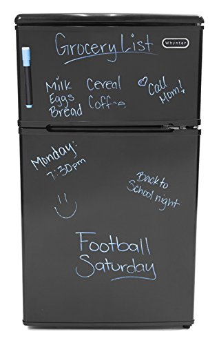 Whynter MRF-310DB 3.1 Cubic Feet Energy Star Stainless Steel Compact Refrigerator/Freezer by Whynter
