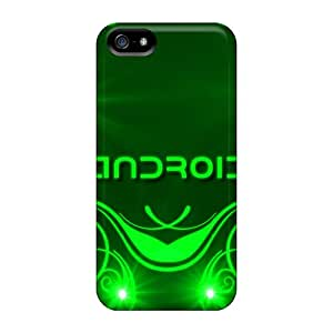 New Arrival Premium 5/5s Cases Covers For Iphone (android Design Green)