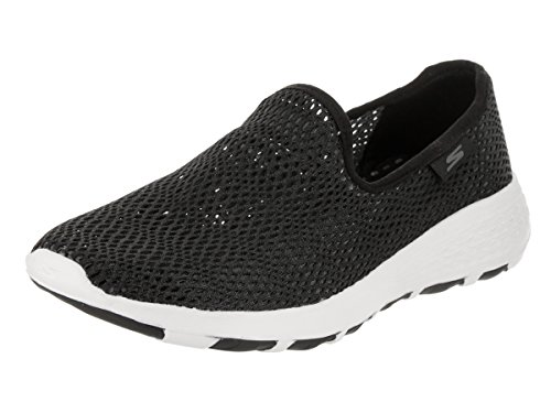 Skechers Performance Women's Go Walk Cool-15650 Sneaker,Black/White,6.5 M (Skechers Cool)
