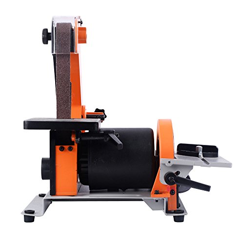 Goplus Belt and 5-Inch Disc Sander, 1 x 30-Inch, 1/3HP Polish Grinder Sanding Machine by Goplus (Image #1)