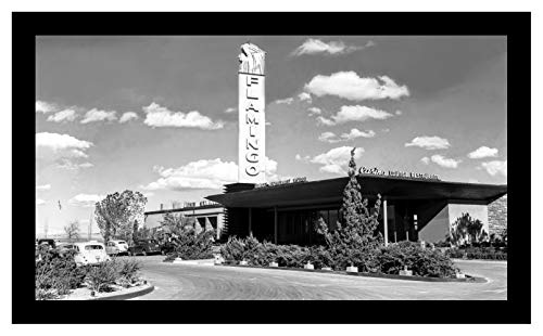 Vegas Las Hotel Photo - Studio Release Framed 8 x 10 Photo Original Flamingo Hotel Casinos Vegas