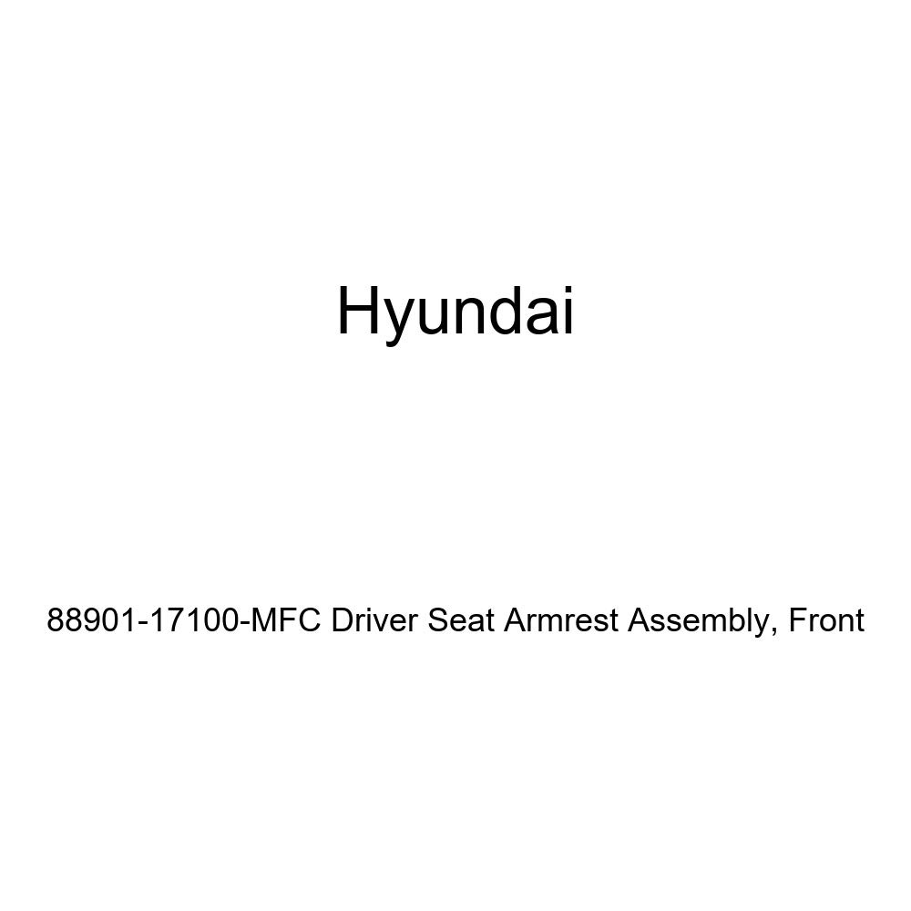 Front Genuine Hyundai 88901-17100-MFC Driver Seat Armrest Assembly