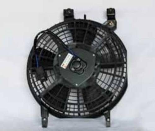 NEW AC CONDENSER FAN ASSEMBLY FITS 1993-1995 TOYOTA COROLLA 88590-12210 FA70067 RAREELECTRICAL