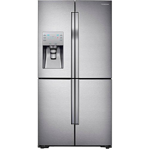 Samsung RF23J9011SR 22.5 Cu. Ft. Stainless Steel Counter Depth French Door Refrigerator - Energy Star (4 Door Refrigerator)