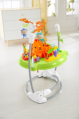 fisher price pink petals jumperoo instructions