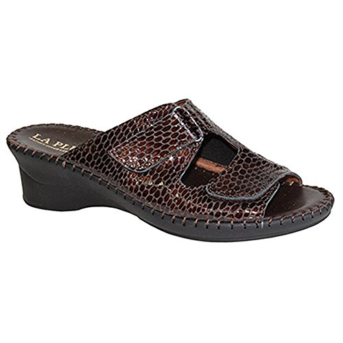 pay with visa sale online La Plume Women's Sheila Mid Heel Sandal Brown discount with mastercard supply sale online pay with paypal cheap online a95qO