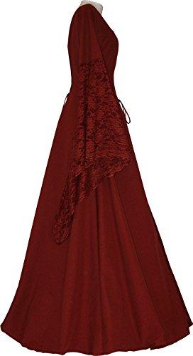 Dornbluth Damen Mittelalter Kleid Elisabeth