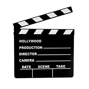 Amazon.com: Lights, Camera, ACTION Clapboard: Toys & Games