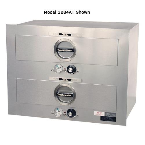 Toastmaster - 3B80AT72 - 2 Drawer 29 in by 19 in 208/240V Built-In Warmer