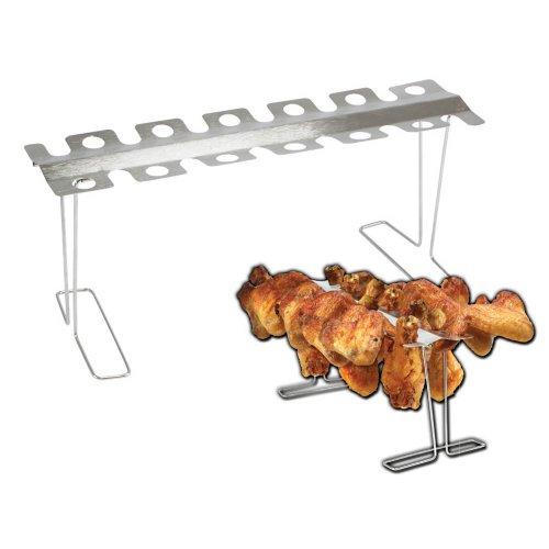 Smokin' Grill Stainless Steel Legs and Wings Rack