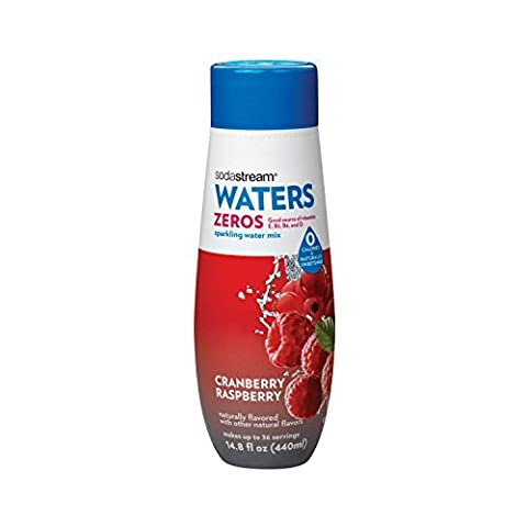 SodaStream Cranberry Raspberry Zero Calorie Syrup, 14.8 Fluid Ounce by SodaStream - Pantry Raspberry