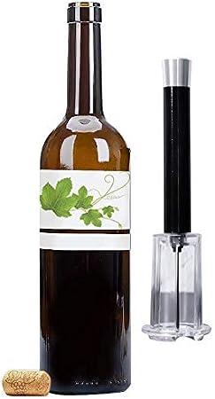 crazy bean Abrebotellas de vino Sacacorchos Neumático para Vino Corcho Sacacorchos Herramienta Accesorios de Vino Tinto