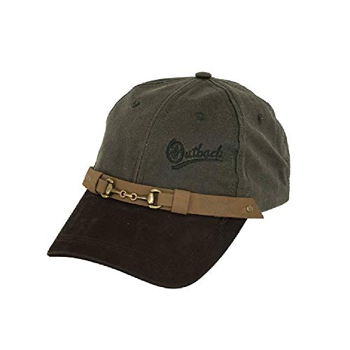 Outback Trading Company Equestrian Cap Sage One Size