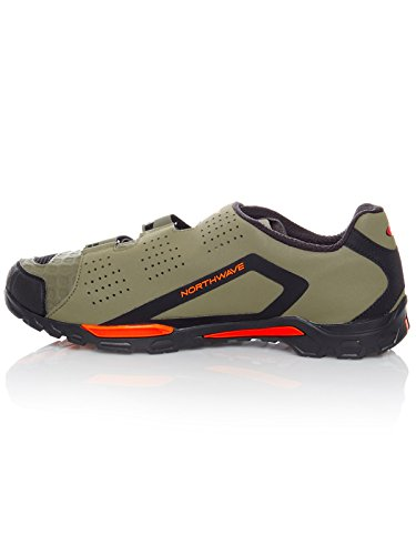 Schuhe 2018 MTB grün Plus Fahrrad Outcross Northwave orange Trekking forest q7vUT