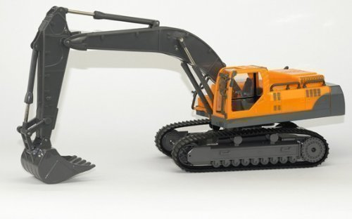 STARKID® RC Kettenbagger L 1:28 Baufahrzeug Bagger 38 cm Motorensound 360° 68102