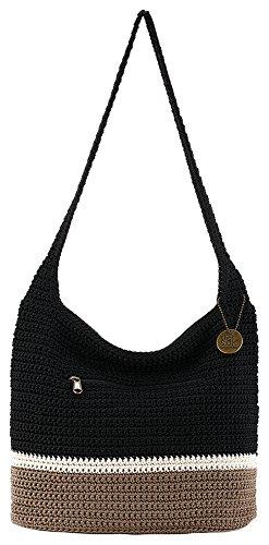 - THE SAK Riveria Colorblock Hobo Handbag One Size Black multi