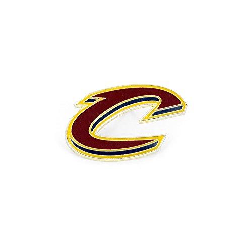 (aminco NBA Cleveland Cavaliers Logo Pin, Maroon, Size 1)