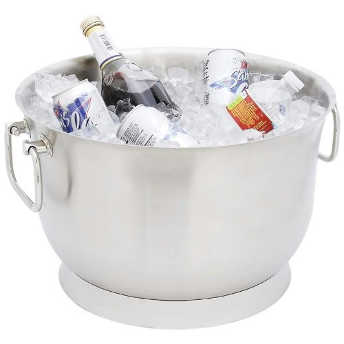 Double Wall Party Tub - Wyndham House™ 24qt Stainless Steel Double Wall Party Tub