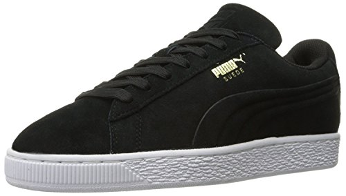 Puma Mens Suede Classic Debossed Q3 Fashion Sneaker, Black, 45 D(M) EU/10.5 D(M) UK