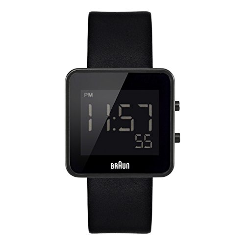 Braun-Mens-BN0046BKBKG-Digital-Digital-Display-Quartz-Black-Watch