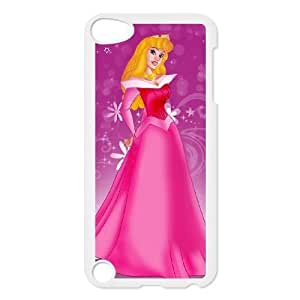 ipod 5 White phone case Classic Style Disney Cartoon Sleeping Beauty WHD8975898