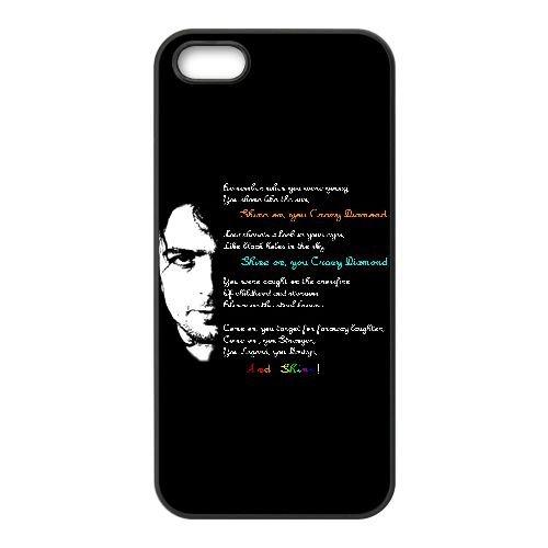 Pink Floyd 008 coque iPhone 4 4S Housse téléphone Noir de couverture de cas coque EEEXLKNBC18252