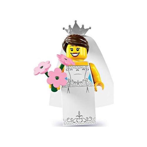 Lego Series 7 Bride Mini Figure
