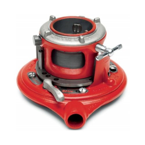 RIDGID 36565 Model 65R-C Manual Receding Threader, NPT Manual Pipe Threader with High-Speed Dies with Pipe Capacity of 1-Inch to 2-Inches (Die Threader High Speed)