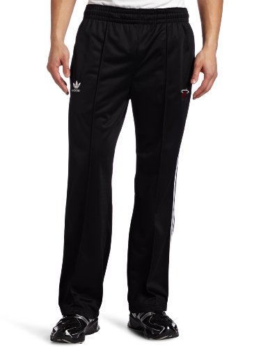 NBA Men's Miami Heat Originals Court Series Legacy Track Pant (Black, XX-Large)