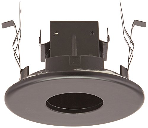 - CSL Lighting 9994 3.6 Series 1-Light Pinhole Recessed Downlight Trim, Black Finish with Black Reflector