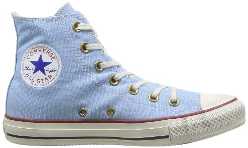 Star Sneaker Canvas Blue Hi All Jp Side adulto Unisex Converse Zip 5wXY6xqf