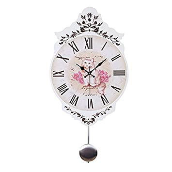 zxc Wall clock Reloj Circular de Pared, Reloj de Pared silencioso, Relojes de Pared de la decoración casera en Reloj de Pared Antiguo, Estilo 2: Amazon.es: ...