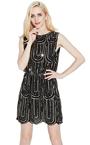20s art deco dress - 8