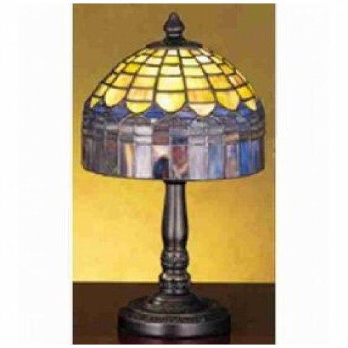 14 Inch H Tiffany Candice Mini Lamp Table Lamps