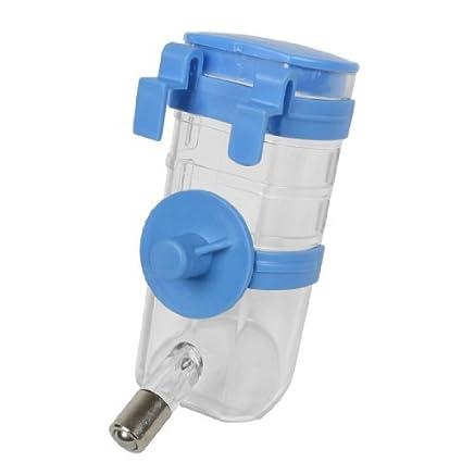 eDealMax Colgando Bebederos Para mascotas Perro Perro Dispensador de agua Potable de la Botella 350ml del