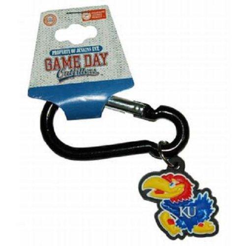 Kansas Jayhawks Team Logo NCAA Carabiner - Carabiner Logo