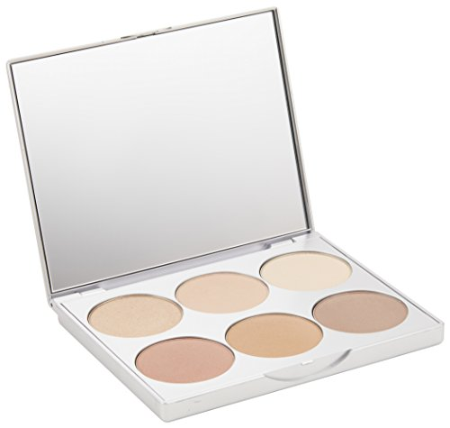 Multi Use Makeup Palette - La Bella Donna | Clean Color Multi-Use Palette, Formulated With Pure & Clean Ingredients - Eyes to Blush, Contour to Highlight, Natural Mineral Makeup Kit, No Parabens or Fragrance - Positano