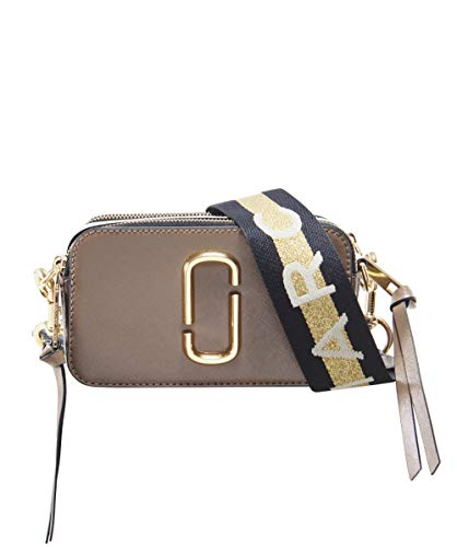 Marc Jacobs Women's Snapshot Camera Bag, French Grey Multi, One - Marc Jacobs Women Bags