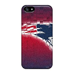 Forever Collectibles New England Patriots Hard Snap-on Iphone 5/5s Cases