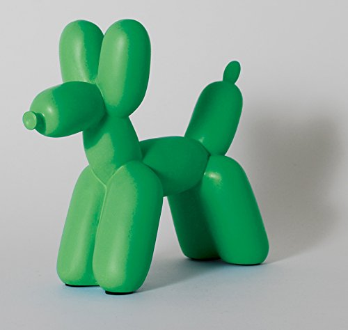 Big Top Balloon Dog Bookend in Kelly - Bookends Green