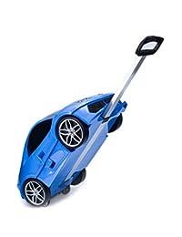 Ridaz Carry-on Hand Luggage for Kids (Blue Lamborghini)